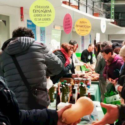 Vuelve el EKOmercado de Pamplona