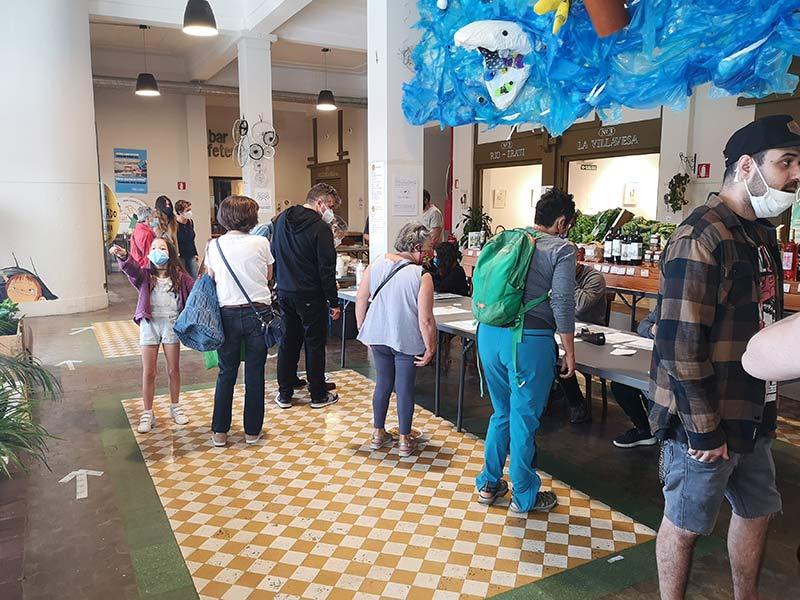 El tercer EKOmercado de Pamplona recupera su carácter mensual