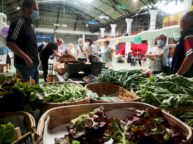 El 5º EKOmercado de Pamplona se celebra el sábado 1 de agosto