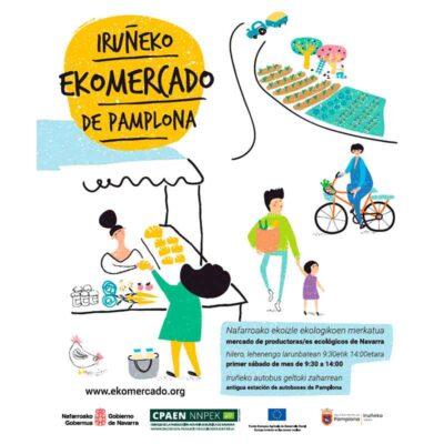 El EKOmercado vuelve el 4 de julio con puestos a los andenes de la Antigua Estación de Autobuses