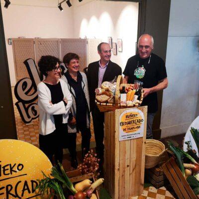 CPAEN/NNPEK pone en marcha el primer EKOmercado de Pamplona
