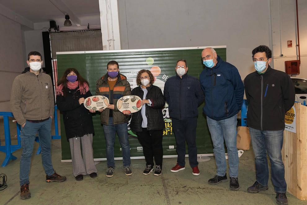 Arantzazu Aldanondo y el mercado de Estella Plazara! han recibido los premios CPAEN/NNPEK 2020